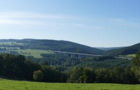 Zicht over de Amblève vallei